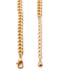 Forever 21 - Multicolor Mixed Media Floral Necklace - Lyst
