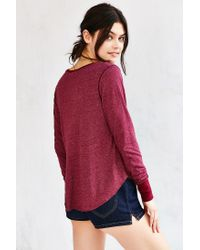 Truly Madly Deeply Red Tiffany Tunic Top