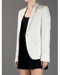 Stella McCartney Natural Three Pocket Blazer