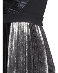 Proenza Schouler - Bi-colour Metallic Pleated Dress - Lyst