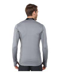 Nike | Gray Hyperwarm Lite Fitted 1/4 Zip for Men | Lyst