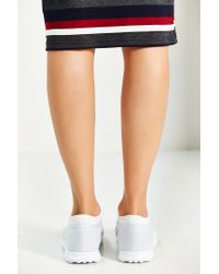 Adidas Originals - Gray Originals Los Angeles Reflective Stripe Running Sneaker - Lyst