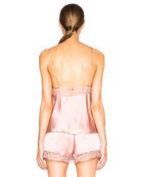 Fleur du Mal Pink Star Lace Cami