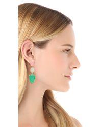 kate spade new york - Multicolor Gumdrop Gem Earrings - Lyst
