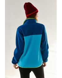 Patagonia Blue Full-zip Snap-t Jacket