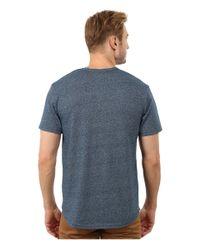 Alternative Apparel | Blue Eco Mock Twist Jersey Pathway T-shirt for Men | Lyst