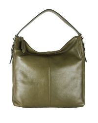 Cole Haan | Green Rockland Leather Hobo Bag | Lyst