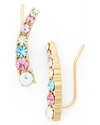 kate spade new york - Multicolor 'dainty Sparklers' Ear Crawlers - Lyst