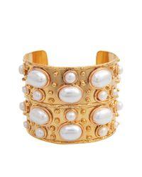 Sylvia Toledano - Metallic Byzance Pearls Cuff - Lyst