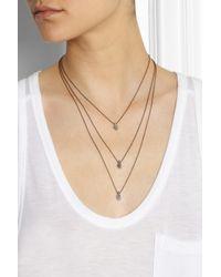 Isabel Marant Metallic Pepito Goldtone Necklace