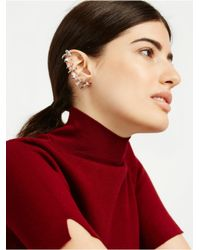 BaubleBar - White Galaxy Ear Cuff - Lyst