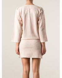 Étoile Isabel Marant - Pink Short Tunic Dress - Lyst