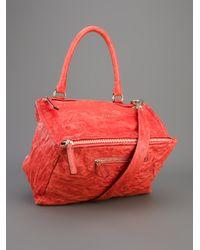 Givenchy Red Medium Pandora Bag