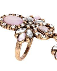 H&M Metallic Jointed Ring
