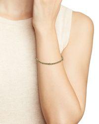 kate spade new york - Metallic How Charming Ball Bracelet - Lyst