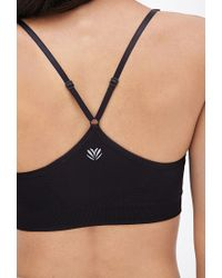Forever 21 | Black Low Impact - Cami Sports Bra | Lyst