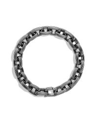 David Yurman - Metallic Royal Cord Small Link Bracelet for Men - Lyst