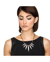Lulu Frost - Black Datura Spike Necklace - Lyst