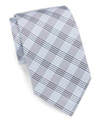 English Laundry | Blue Silk Plaid Tie for Men | Lyst