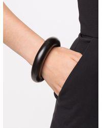 Monies | Black Large Tri Sectional Bracelet | Lyst