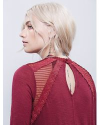 Free People - Purple New Romantics Ruby Jane Tee - Lyst
