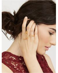 BaubleBar | Metallic Peacemaker Ring | Lyst
