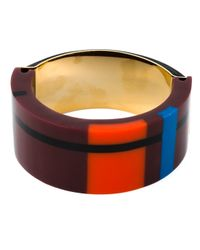 Marni | Brown Checked Bracelet | Lyst
