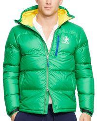 Polo Ralph Lauren | Green Rlx Ripstop Down Jacket for Men | Lyst