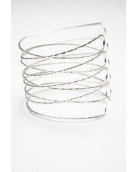 Free People | Metallic Metal Upper Armband | Lyst