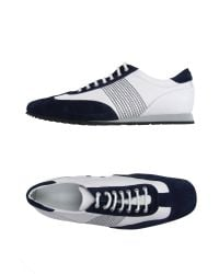 BOSS Black White Low-tops & Trainers for men