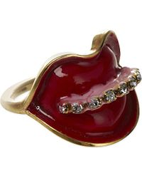 Erickson Beamon | Red Cheap And Cheerful Lips Ring | Lyst