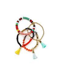 BaubleBar - Metallic Maldives Bracelets, Set Of 4 - Lyst