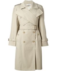 J.W.Anderson | Natural Double Breasted Trench Coat | Lyst