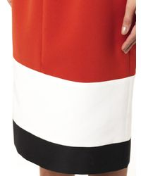ROKSANDA Orange Harleton Contrast-hemline Dress