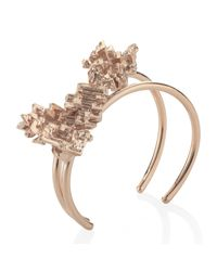 Noritamy | Metallic Rose Gold Bangle | Lyst