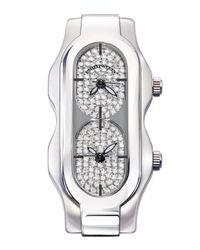 Philip Stein | Gray Mini Signature Watch Head With Diamond Dial | Lyst