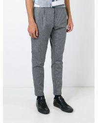 Etudes Studio Gray Wool Trousers for men