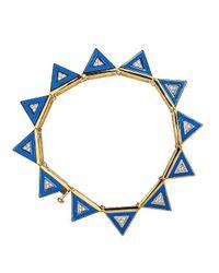 Noir Jewelry - Blue Marina Bracelet - Lyst