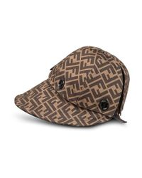 Fendi Brown Hat