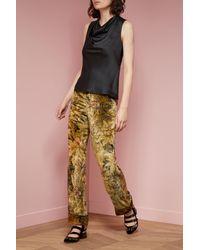 F.R.S For Restless Sleepers Multicolor Etere Velvet Trousers