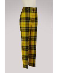 Balenciaga Yellow Casual Trouser