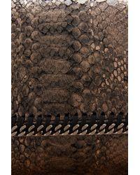 Stella McCartney | Multicolor Falabella Alter Python Crossbody Bag | Lyst