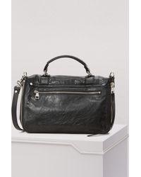 Proenza Schouler Black Ps1+ Medium Shoulder Bag