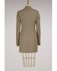 Stella McCartney Multicolor Cass Wool Dress