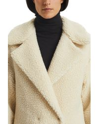 Harris Wharf London White 3/4 Coat
