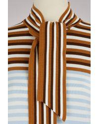 Marco De Vincenzo - Multicolor Striped Caerdigan - Lyst