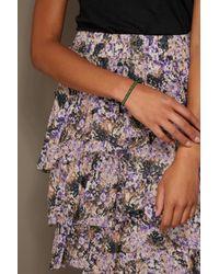 Isabel Marant - Green Brass Bracelet - Lyst