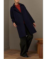 A.P.C. Blue Wool Bakerstreet Coat
