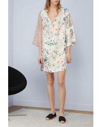 La Prestic Ouiston - Multicolor Indian Silk Dress - Lyst