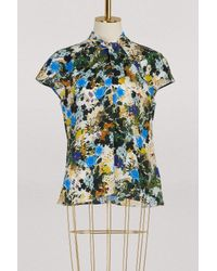 Erdem Multicolor Fiana Sleeveless Top
